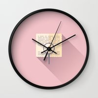 budapest hotel Wall Clocks featuring The Grand Budapest Hotel · The Clue by Lorena G