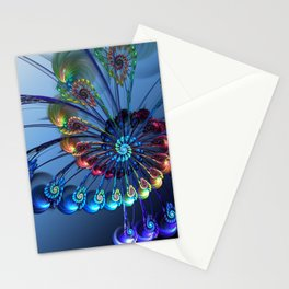 Firebird feather Stationery Cards