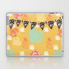 Party Banner Floral Pop Art Laptop & iPad Skin
