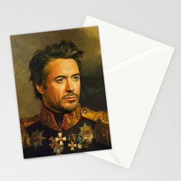 Robert Downey Jr. - replaceface Stationery Cards
