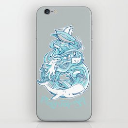 Plenty of Fish in the Sea iPhone Skin