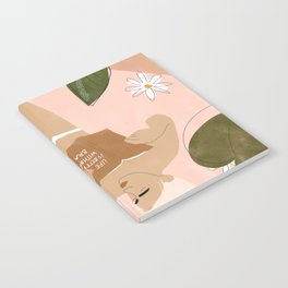 Life Is Better Without Bra Notebook