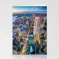 sydney Stationery Cards featuring Sydney by Gareth Cooper