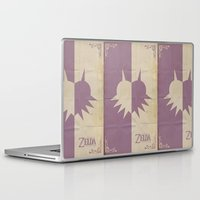 majoras mask Laptop & iPad Skins featuring Majoras Mask by cbrucc