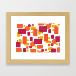 Colorplay No. 1 Framed Art Print