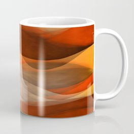 """Sea of sand and caramel waves"" Coffee Mug"