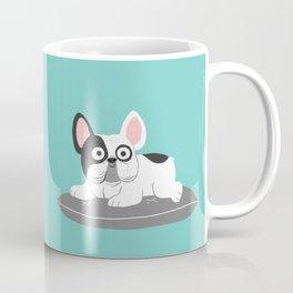 I love my bed - Lazy French Bulldog Coffee Mug