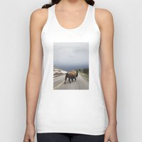believe Tank Tops featuring Street Walker by Kevin Russ