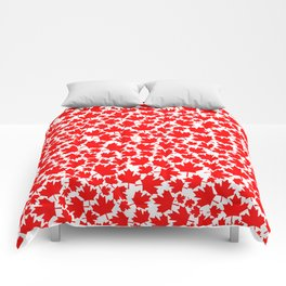 Canadian fall / Canadian flag maple leaf pattern Comforters