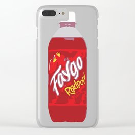 Faygo Redpop! Clear iPhone Case