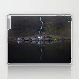 River that vanishes (Fjord) Laptop & iPad Skin