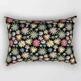 Dusk Wildflowers Rectangular Pillow
