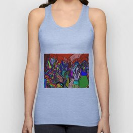 Dance in Pulse Unisex Tank Top