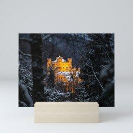 The Castle in the wood Mini Art Print