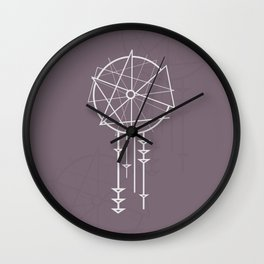 Sweet Dreams (Purple) Wall Clock