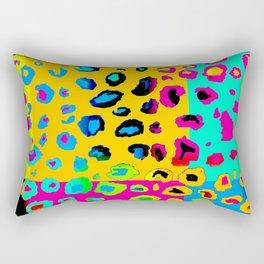colorpop leopard Rectangular Pillow