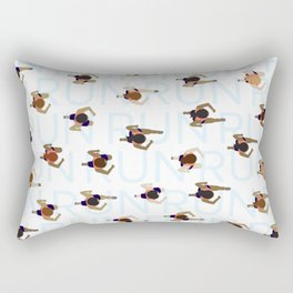 Keep on Running Rectangular Pillow