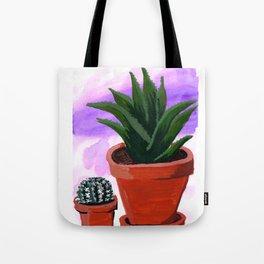 Gauche Succulents Tote Bag