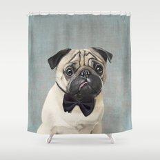 Mr Pug Shower Curtain