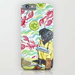 """P is for Preppy """"L"""" iPhone Case"""