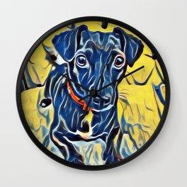 Pop Art Jack Russell Wall Clock