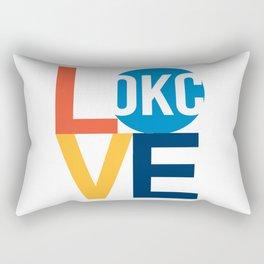 OKC Thunder LOVE  Rectangular Pillow