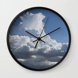 """""""Monsoon Sky #2"""" by Murray Bolesta! Wall Clock"""
