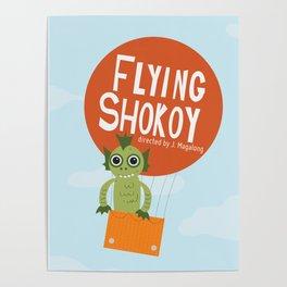 Flying Shokoy (Philippine Mythological Creatures Series) Poster
