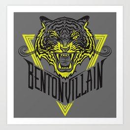 BENTONVILLAIN - one eye  Art Print