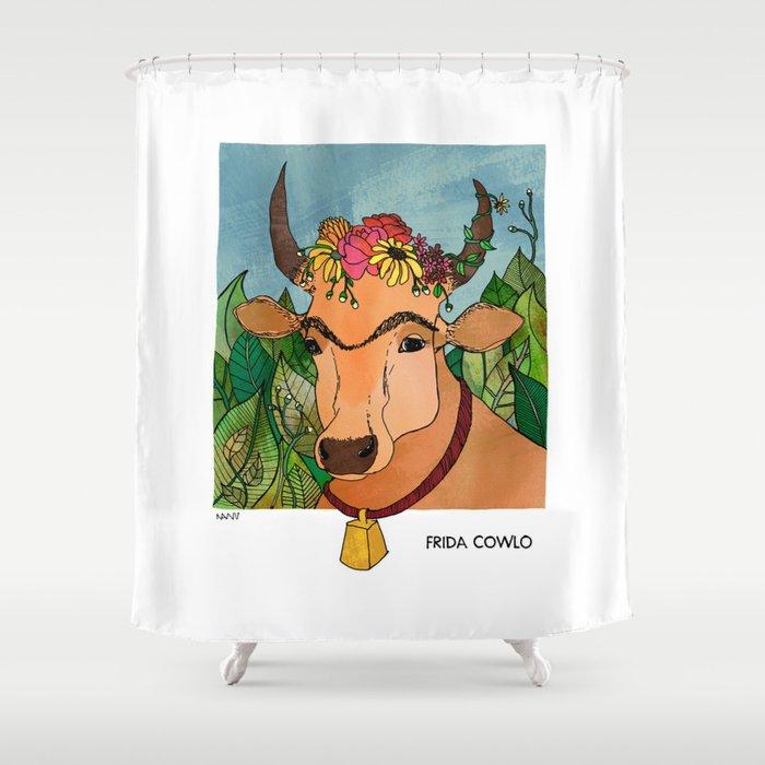 Frida Cowlo Shower Curtain