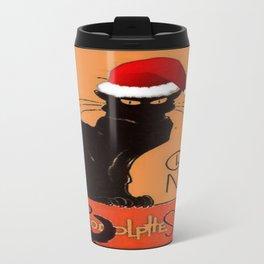 Le Chat Noel Travel Mug
