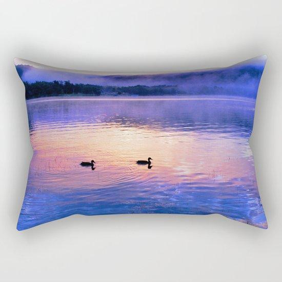 Morning Meditation (Sunrise) Rectangular Pillow