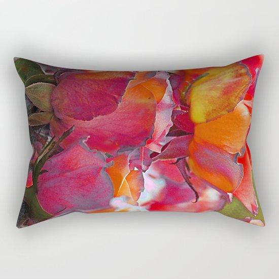 Romantic roses(9). Rectangular Pillow