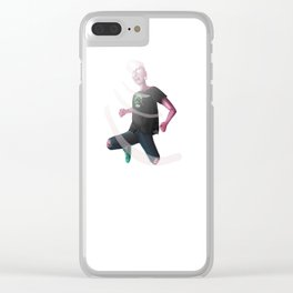 Lars Roars Clear iPhone Case