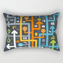 Arrow business Rectangular Pillow