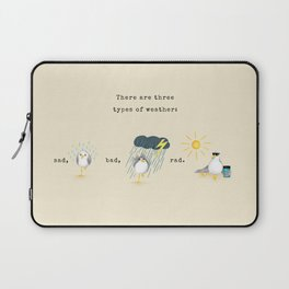 Three Types of Weather Laptop Sleeve
