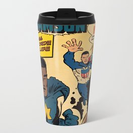 Colored Comics Presents Samson Metal Travel Mug