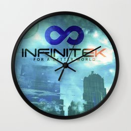 Space Needle - Infinitek Headquarters Seattle Wall Clock