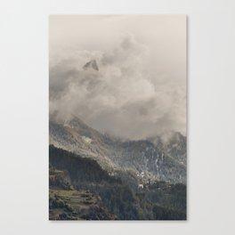 The Alps 3 Canvas Print