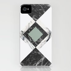 Green Marble Slim Case iPhone (4, 4s)
