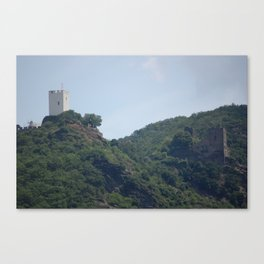 The Fighting Castles Canvas Print