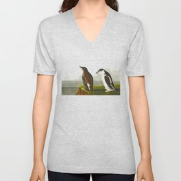 Slender-billed Guillemot Bird Unisex V-Neck
