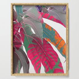 Tropical abstract 5 Serving Tray