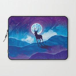 Moonlit Stag Laptop Sleeve
