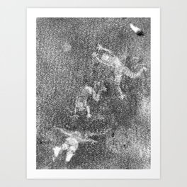 Shadow Dancers, Second Edition Ghost Art Print