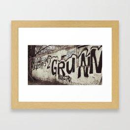 Graffity 1 Framed Art Print