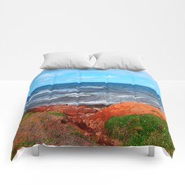 Rolling Waves in East Point PEI Comforters