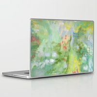 amelie Laptop & iPad Skins featuring Amelie Abstraction by Annie Flynn