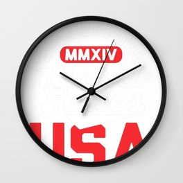 SOCCERBOWL WORLD SERIES T-SHIRT Wall Clock