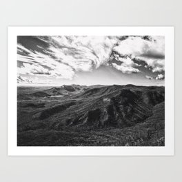 Race Of The Clouds Art Print